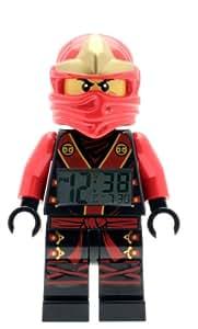lego ninjago kai elementar minifigur wecker. Black Bedroom Furniture Sets. Home Design Ideas