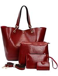 DEERWORD Mujer Shoppers y bolsos de hombro Bolsos bandolera Carteras de mano y clutches 3 piezas