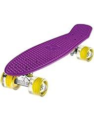 "Ridge 22"" Mini Cruiser Skateboard con LED Ruedas"