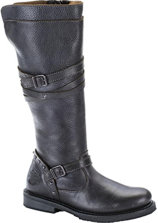 Harley Davidson Stivali Donna Biker stivali grigio ardesia d83660 Cyndie, Cyndie, Cyndie, Harley scarpe donna Größen 39 | Sale Italia  | Gentiluomo/Signora Scarpa  5d6650