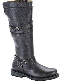 Harley Davidson Mujeres Botas Biker Boots Slate d83660 gris Cyndie