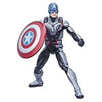 "Avengers Hasbro Marvel Legends Series Endgame 6"" Captain America Marvel Cinematic Universe Collectible Fan Figure"