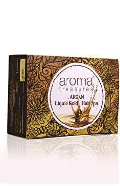 Aroma Treasures Argan Liquid Gold Hair Spa, 30g