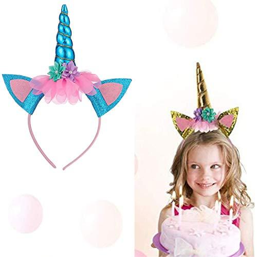 (Simply Unicorn Stirnband für Erwachsene, Weihnachten, Einhorn, Einhorn, Haarband, Mädchen, Party, Cosplay, Kostüm, Party)