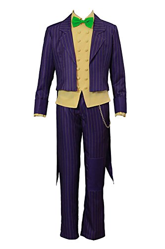 play Costume Arkham City The Joker Clown Villain Outfit Version 2 ()