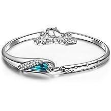 """Pauline & Morgen """"Cinderella"""" Bracciale per donna realizzato con cristalli SWAROVSKI®"""