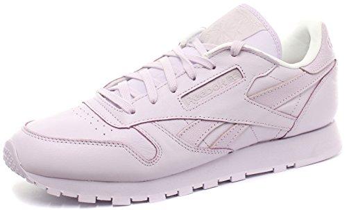 Reebok Damen Classic Leather Spirit Laufschuhe Sharing/White/Energy