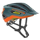 Scott Fuga Plus XC MTB Fahrrad Helm Petrol grün/orange 2019: Größe: L (59-61cm)