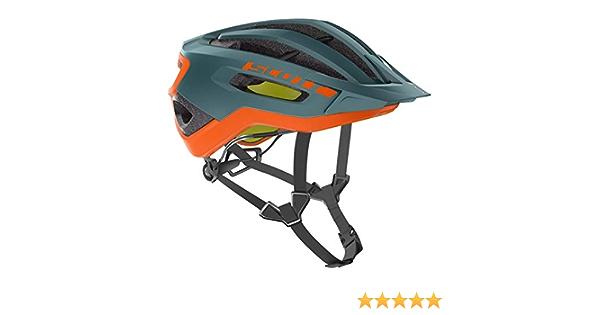 Scott Fuga Plus XC 2019 Casque de v/élo Petrol Vert//Orange