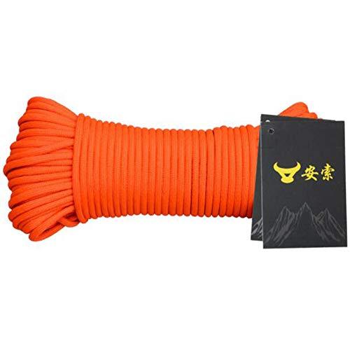 Black Temptation Corde Parachute Corde Forte pour Sports, Décoration, Extérieur 31 Metres (101.7 Pieds)