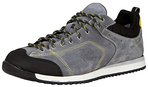 GUGGEN Mountain Herren Allround Sneaker Wanderschuhe Wanderhalbschuhe Trekkingschuhe wasserdicht Outdoor-Schuhe Walkingschuhe HPC54 Farbe Schwarz EU 41 -