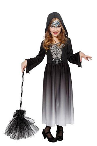 Jannes - Kostüm Hexe Kinder Schwarz 128
