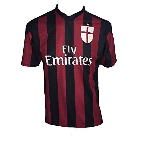 Maglia calcio bambino balotelli replica ufficiale milan calcio *22413-2 anni