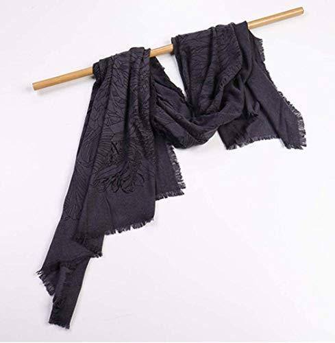 YANG Damen Herbst Und Winter Warmes Hemd Mode Damen Wrap Comfort Print Jacke Decke Großen Schal,C,Einheitsgröße Print Wrap Jacke