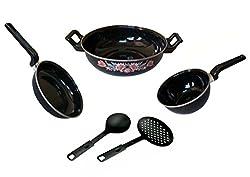 Dugri Enamle Cookware Set 3 Cookware Sets