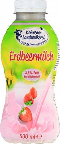 H-Erdbeermilch 3,5% Fett im Milchantei (6x 0,5L)