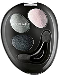 Deborah Milano Trio Hi-Tech Eyeshadow in Greys, Browns, Blues, Pinks and Greens with a Wet and Dry Formula 4.3g 1