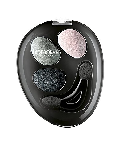 deborah-milano-trio-hi-tech-eyeshadow-in-greys-browns-blues-pinks-and-greens-with-a-wet-and-dry-form
