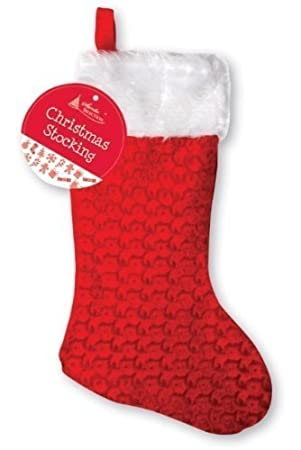 Large Christmas Stocking: Amazon.co.uk: Kitchen & Home