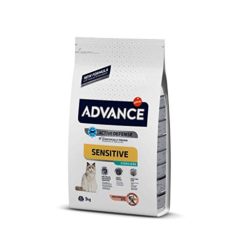Advance Sensitive Pienso para Gato Esterilizado Adulto con Salmón - 3000 gr