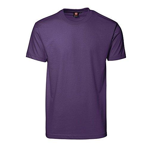 ID Herren T-Shirt (3XL, Lila)
