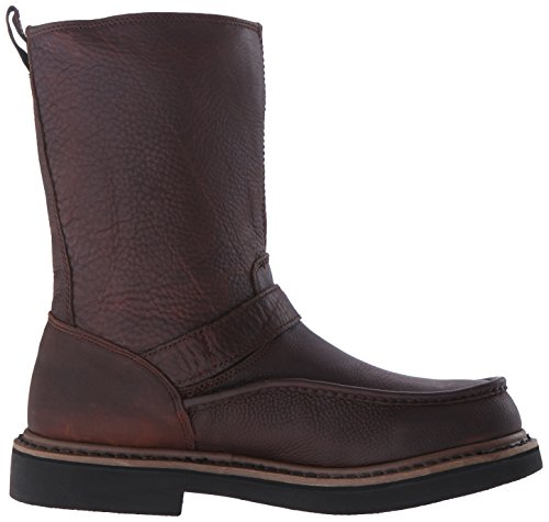 Georgia Boot Side Zip Moc-Toe Wellington Synthétique Botte Copper