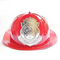 Red Firefighter Fire Rescue Hat Boys Kids Fire Hat Fire Cheif helmet