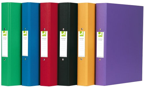 Q-Connect-A4-2-Ring-Binder-Polypropylene-Assorted-Pack-of-10