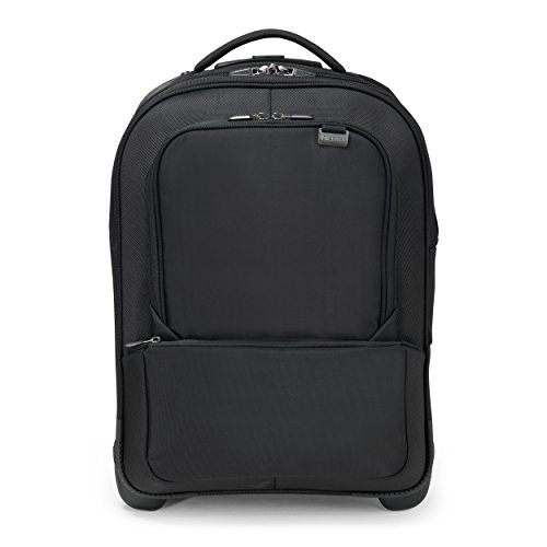 Compare Prices for Dicota Backpack Roller PRO Laptop Bag 15-17.3″ – Black (Flight Appropved Size with RFID Scan Protection and Water Repellant Material) on Amazon