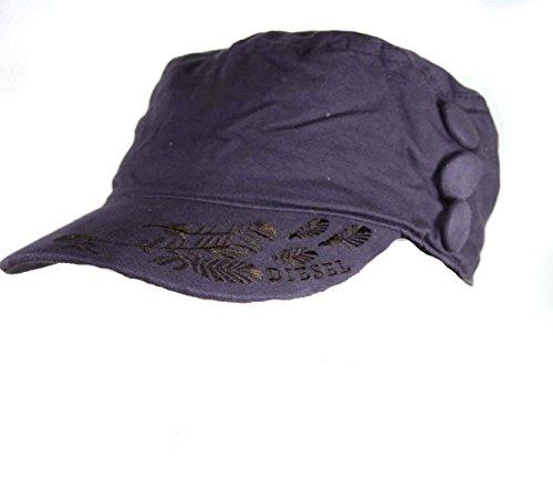 Diesel Cap Mütze Berretto Army Sosimmy Lila (3)