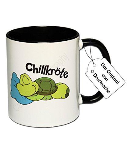 Spruchtasse Funtasse Schildkröte Kaffeebecher Henkelbecher Tasse mit Spruch Teetasse Kaffeetasse...