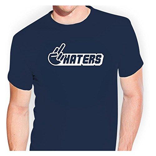 Fuck You Haters T-Shirt tsf0037 - Kiwistar T-Shirt Funshirt Geschenkidee witzig
