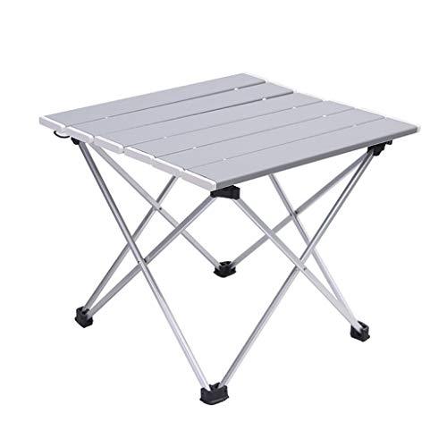 Table Pliante en Aluminium d'extérieur/Table de Barbecue Portable de Camping/Table Pliante Multifonctions Portable/Table de Pique-Nique Ultra légère