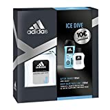 adidas Duftset Ice Dive Aftershave 100 ml + Showergel 250 ml + Voucher, 350 ml