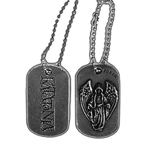 Katatonia Night is the Nue day Nue offiziell Alchemy poker pewter Dog Tag