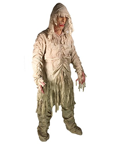 Kinder Robe Kostüm Scream - Herren Zombie Mumie Kostüm Halloween Gespenst Sensenmann Scream Kostüm