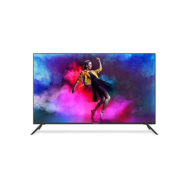 Kiano-Slim-TV-50-Pouces-Android-TV-127-cm-Frameless-TV-4K-Ultra-HD-HDR-MiracastEshare-Smart-TV-Netfilx-Ipla-Youtube-Facebook-Triple-Tuner-CI-CI-PVR-WiFi-Classe-nergtique-A