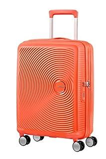 American Tourister Soundbox Spinner Espandibile, 55 cm, 35,5/41 L, 2,6 Kg, Arancione (Spicy Peach) (B079MC3XN8) | Amazon price tracker / tracking, Amazon price history charts, Amazon price watches, Amazon price drop alerts
