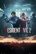 Close Up Poster Resident Evil 2 - City Key Art (61cm x 91,5cm)