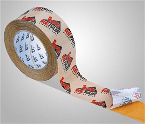 Ruban de Repair, blanc avec logo, forte adhésifs film adhésif, longueur du rouleau : 25 m, rouleau largeur : 60 mm