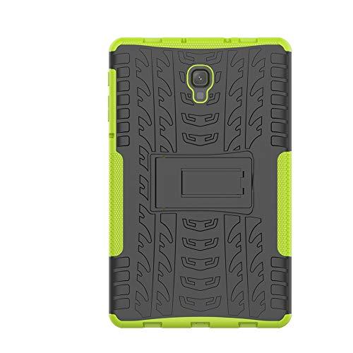 KISCO für Samsung Galaxy Tab A 10.5 Hülle,Stoßfest Hybrid PC und TPU Cover mit Kickstand Tablet Cover Schutzhülle für Samsung Galaxy Tab A 10.5-Grün
