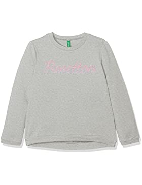 United Colors of Benetton Sweater L/S, Sudadera para Niñas