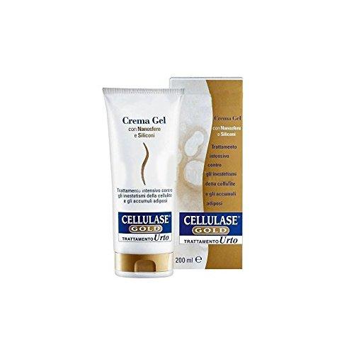 Crema Per Il Corpo Gel Anticellulite Trattamento Urto Cellulase Gold 200 Ml