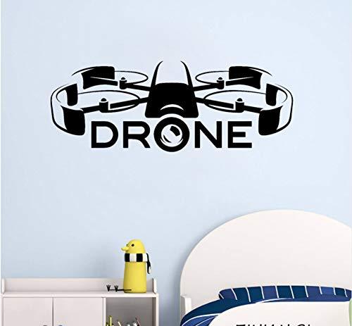 9e2ddb95516e Drone Racing Uav Wall Decoración Para El Hogar Sala De Estar Dormitorio  Nuevas Tecnologías Pegatinas Removibles