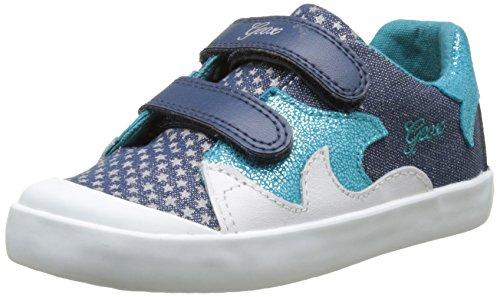 Geox B Kiwi Girl F, Chaussures Marche Bébé Fille Turquoise (AVIO/TURQUOISEC4133)