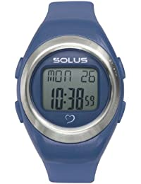 Solus Unisex Digital Watch with LCD Dial Digital Display and Blue Plastic or PU Strap SL-800-204