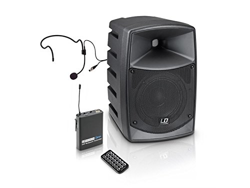 LD Systems Road Buddy 6 HS - Batteria Bluetooth Speaker Mixer, Body Pack,