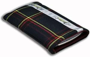 Norrun Handytasche / Handyhülle # Modell Herward # ersetzt die Handy-Tasche von Hersteller / Modell Samsung Galaxy Tab # maßgeschneidert # mit einseitig eingenähtem Strahlenschutz gegen Elektro-Smog # Mikrofasereinlage # Made in Germany