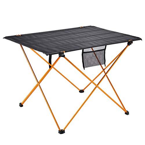 Portable Camp Table, Table Pliante LéGèRe, 600d Oxford Tissu ExtéRieur Pique-Nique Camping Plage Patio Backpacking Pliable, RandonnéE PéDestre Voyage Pique-Nique BBQ Garden Beach