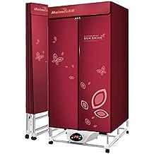 Clothes dryer Secador doméstico, secador eléctrico Plegable de 1600W Guardarropa de Secado rápido de múltiples